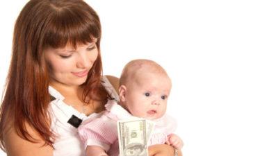 мать одиночка сколько получает в месяц