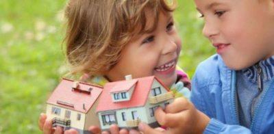 как выделить долю ребенку в ипотечной квартире