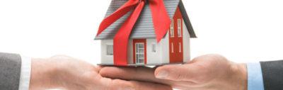 как оформить дарственную на дом через мфц