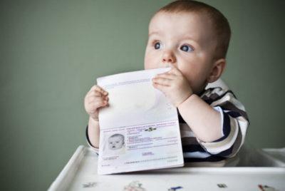 что нужно чтобы прописать новорожденного ребенка
