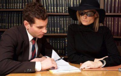 как оформить наследство после смерти мужа