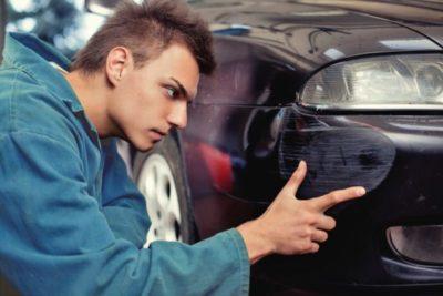 поцарапал машину и скрылся что грозит