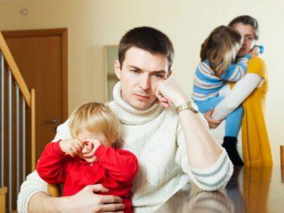 как уйти от мужа с ребенком