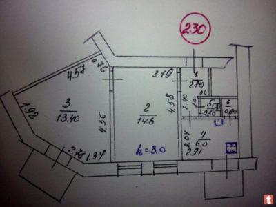 как изменить площадь квартиры