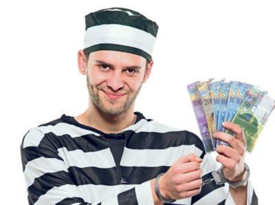 кто платит алименты если муж в тюрьме