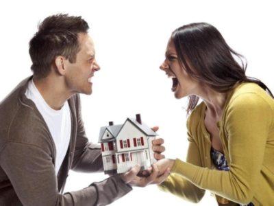 как делится квартира при разводе с детьми